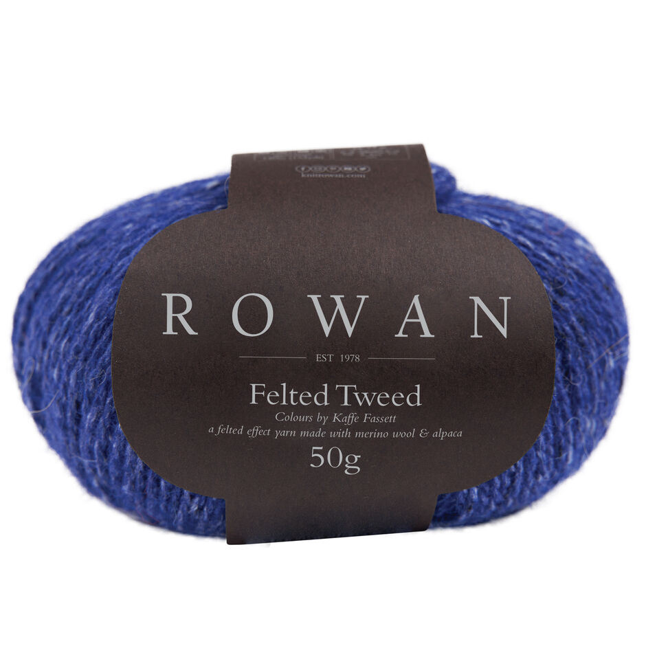 ENGL//allemand Felted Tweed Rowan brochure café/'s Colours zb245