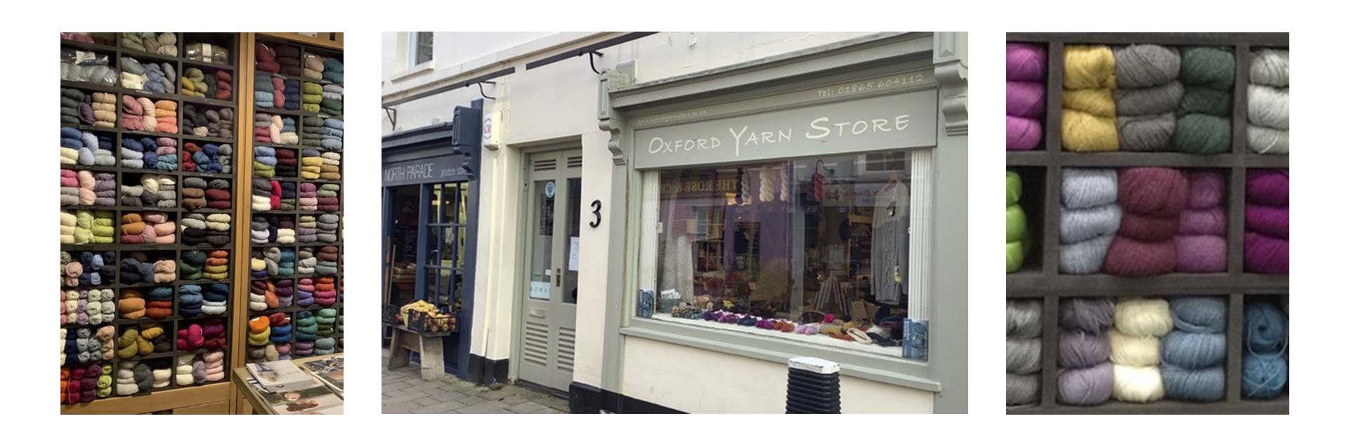 Oxford Yarn Store is a delightful destination store located in the vibrant North Parade Avenue since 2012. It has become the heart of Oxford's knitting community and attracts visitors from all over the world. Proud to be a Rowan Flagship Store, we and our customers love all of Rowan's yarns and find the range of exciting pattern options  from their designers works for all types of knitters.