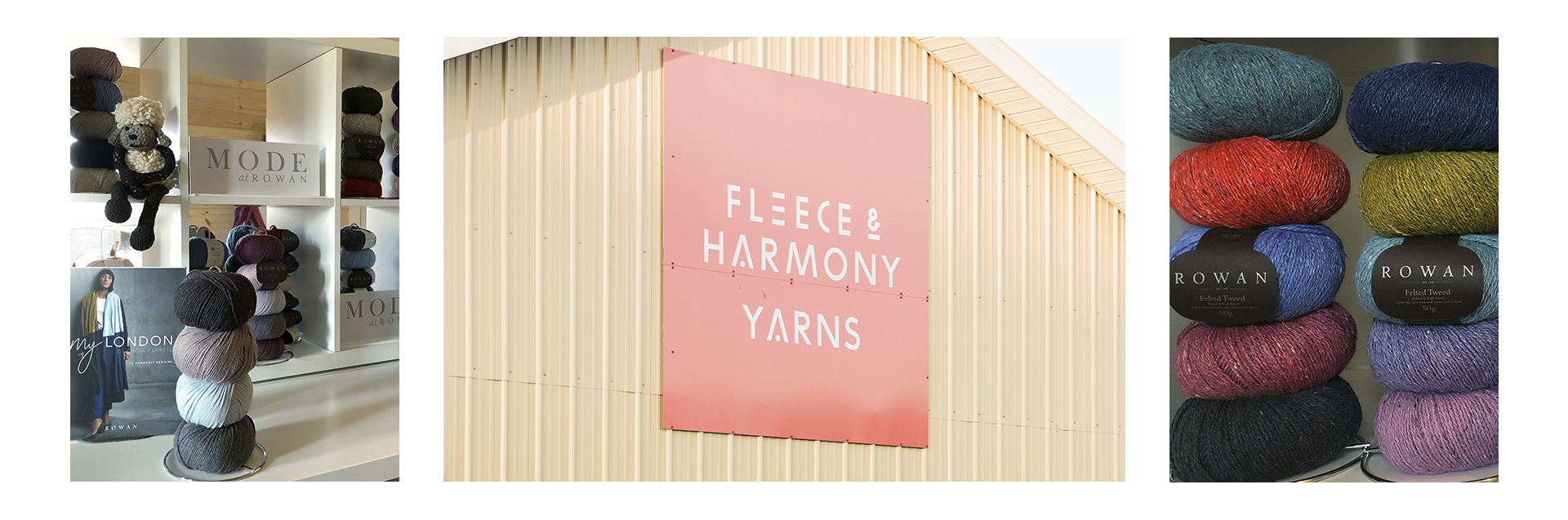 Fleece and Harmony is Atlantic Canada's first and only Rowan Flagship store. We carry a wide selection of Rowan yarns in all available colours. We are proud to also stock an excellent variety of Rowan publications and the iconic Rowan Magazines.