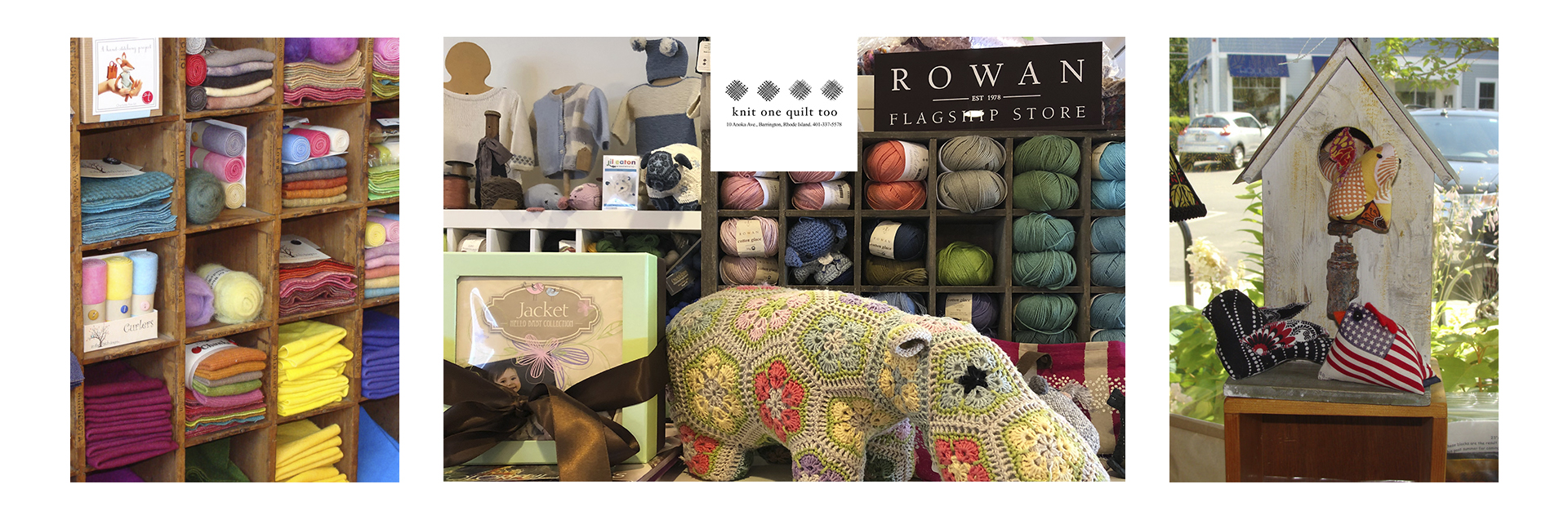 KnitOneQuiltToo has from its opening been a Rowan Retailer. I have loved Rowan from my early childhood days, it was the company that set the bar for other yarns to aspire too. That is still the case and KnitOneQuiltToo carries a multitude of Rowan yarns.