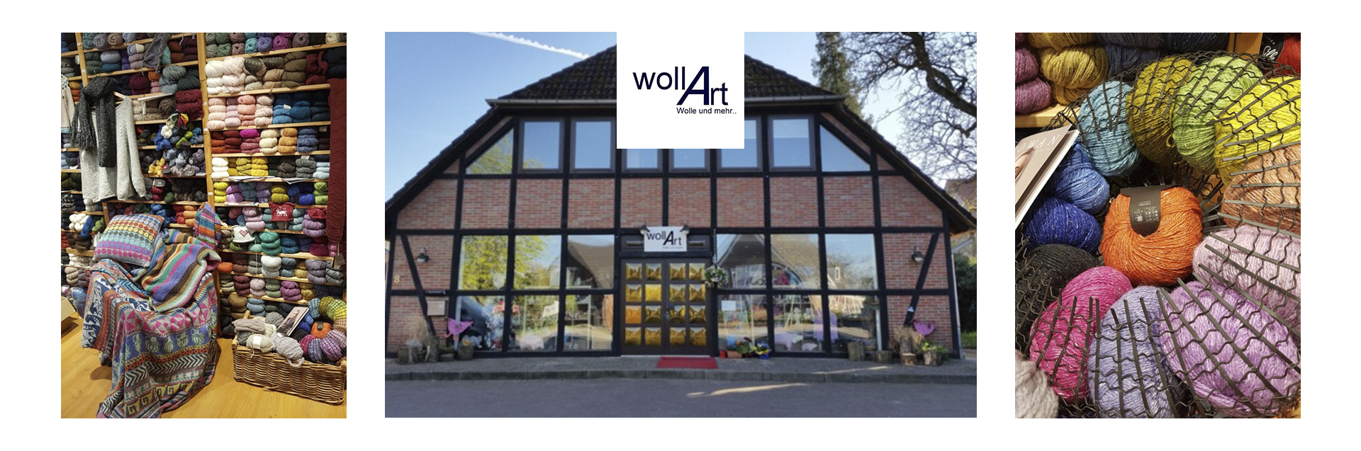 WollArt is the shop to visit if you are looking for a missing ball or two to finish a Rowan design in a discontinued yarn. Ute Rudat's lovely shop in Salzhausen, an idyllic village to the south of Hamburg, is a treasure trove of Rowan yarns.