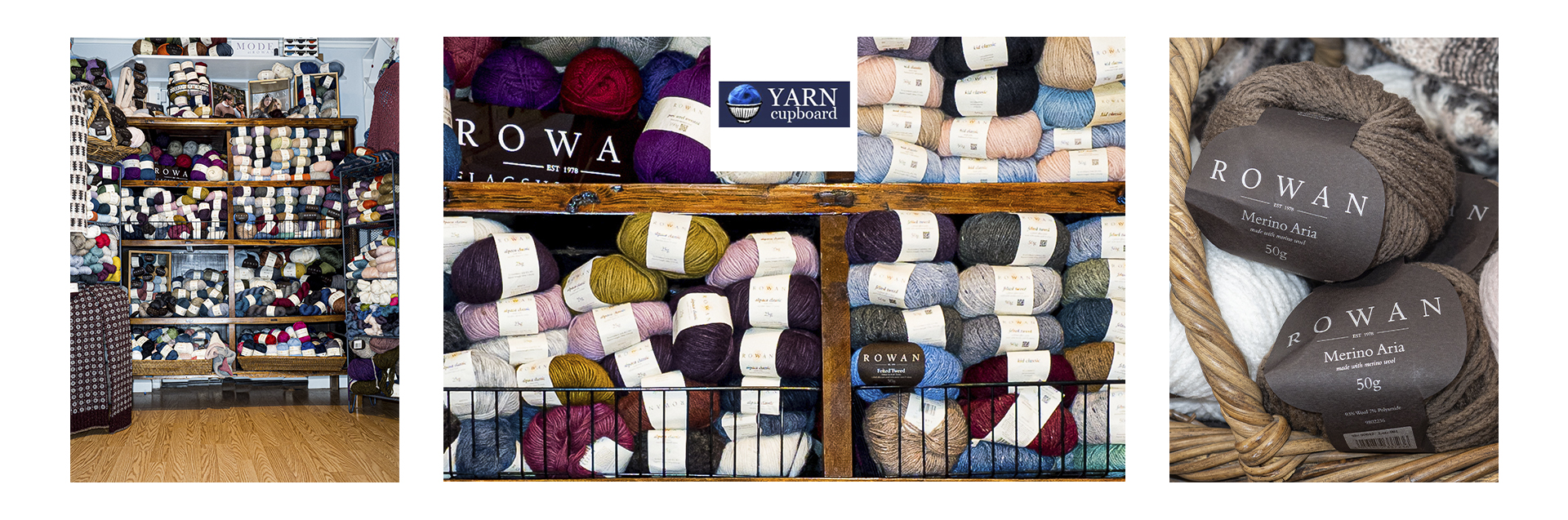 For 12 years the Yarn Cupboard has been a full service yarn shop and is a Rowan Flagship store. We are a premiere source for Rowan yarns in Upstate, New York.