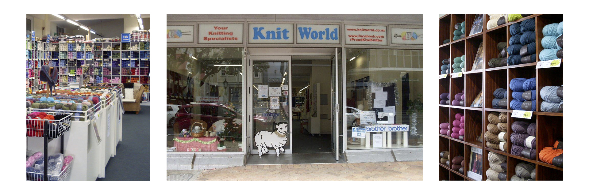Serving kiwi knitters and stitchers for almost fifty years, Knit World is a family-owned business started by John and Lorna Goldingham. Now run by brother-sister duo David and Anne, with the help of their sister Karyn, Knit World aims to keep knitting and sewing active in every New Zealand family.