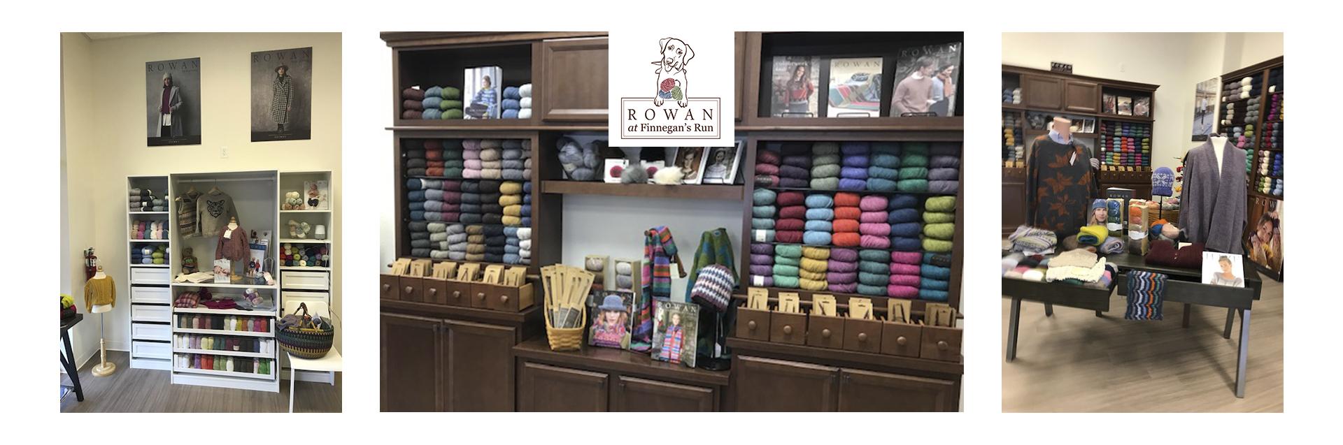 Located in Fredericksburg, VA, Rowan at Finnegan's Run is the only all Rowan yarn shop in North America.