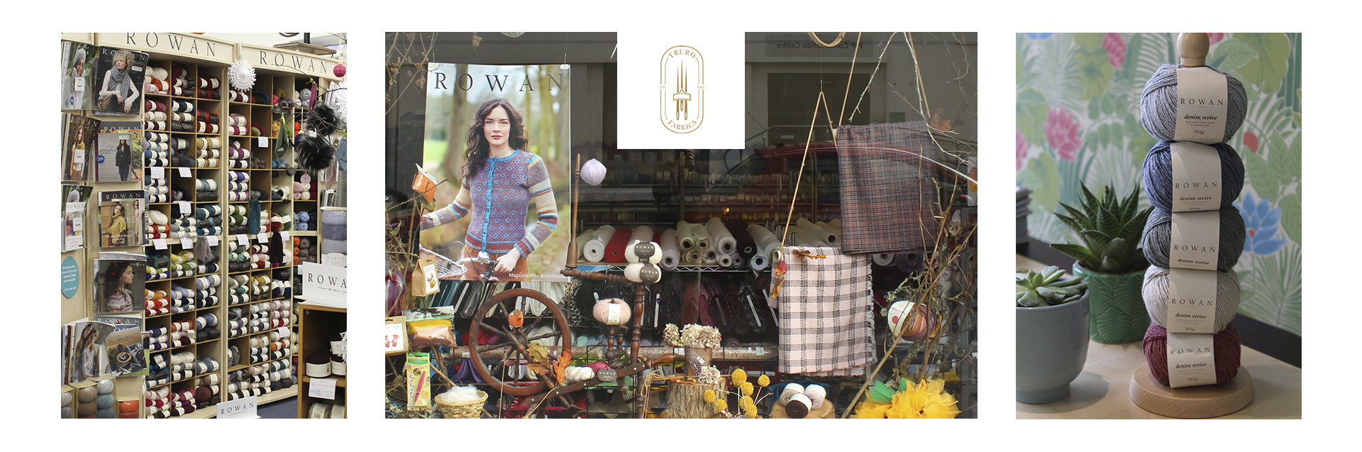 We are a small, independent family run knitting & sewing emporium based in the heart of Cornwall.