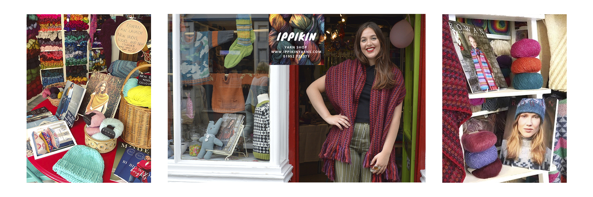 We're an independent family run yarn store nestled in the heart of Much Wenlock. Our shop is made up of everything you need to create beautiful hand knits and crochet masterpieces or if you cannot visit we are happy to take mail orders.