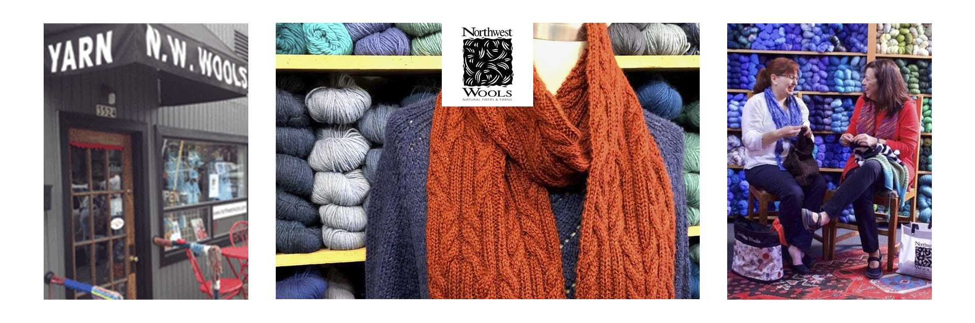 Portland's Oldest Yarn Shop providing all natural yarns and fibers for knitting, crocheting, weaving, spinning, dyeing and felting. Staffed by friendly Experts and located in the charming Multnomah Village neighborhood for over 35 years!