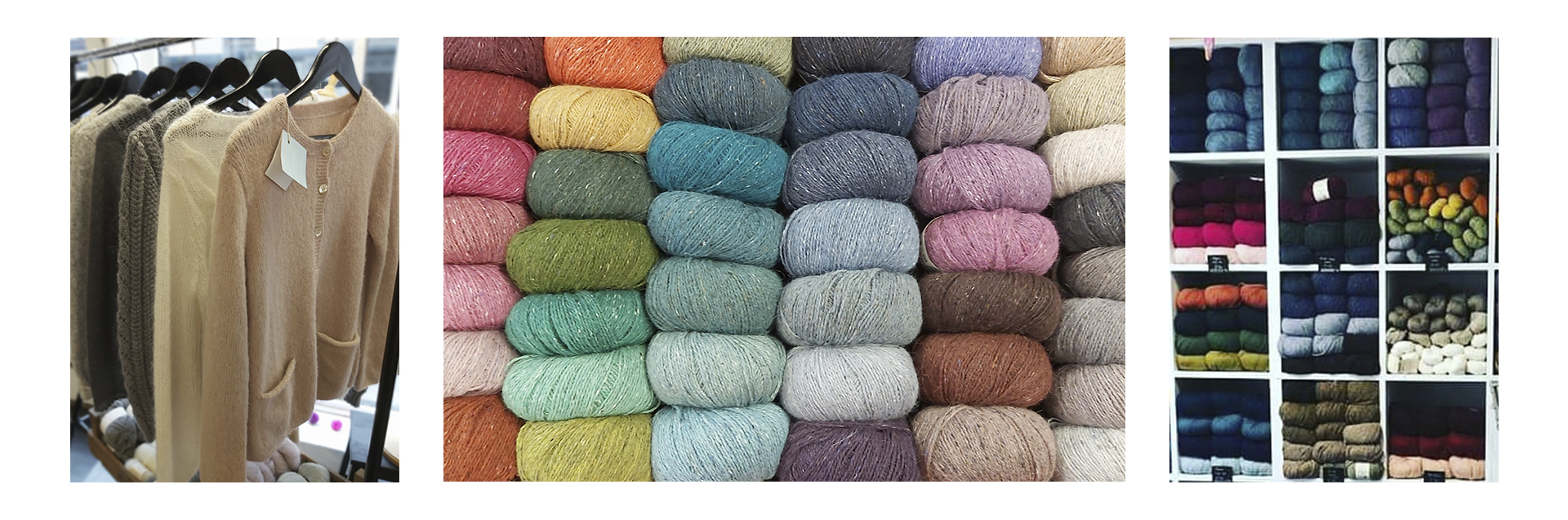 Based in the heart of the beautiful cathedral city of Ely, we're a small independent business offering a gorgeous selection of yarn and fabrics, along with a variety of haberdashery and crafting supplies. We have a sister shop in Bury St Edmunds and also ship worldwide via our website.