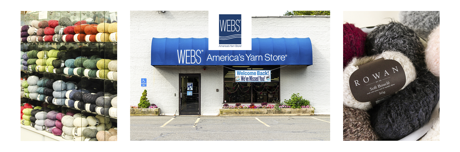 WEBS is America's largest yarn store and proud to be a Rowan Flagship location.